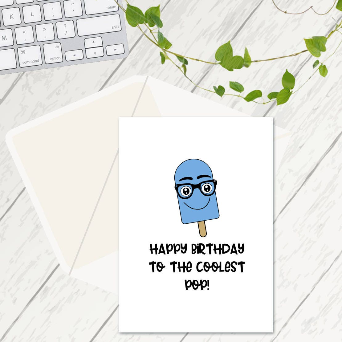 Happy birthday to the coolest pop ice lolly pun birthday cards happy birthday to the coolest pop ice lolly pun birthday cards dad birthday bookmarktalkfo Choice Image