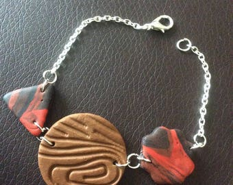 Bracelet triangle, round and biscuits for various occasions!