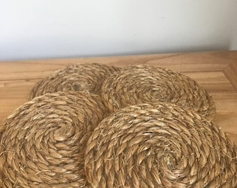 Rope Hemp Coasters