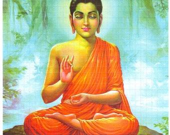 Meditating Buddha Blotter art