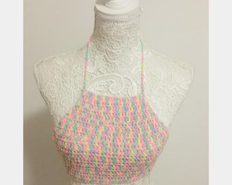 Crop top crochet