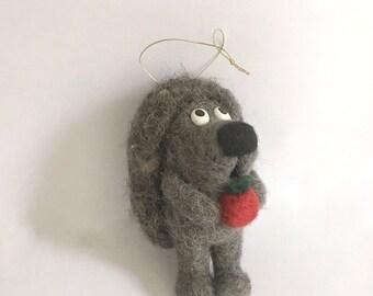 Felt Toy - Hedgehog made from Georgian natural Felt