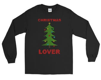 Christmas Lover Ugly Christmas Sweater Long Sleeve T-Shirt