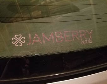 Jamberry's NEW logo Vinyl Decal