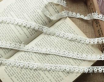 Guipure lace embroidered Largeur1.2cm L012007