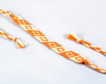 "Handwoven Bracelet ""Brackets"""