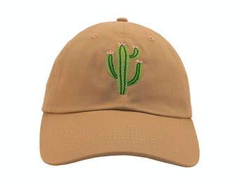 Cactus pink flower Embroidered Cap Dad cap dad hat embroidered baseball cap Cactus hat unisex cap