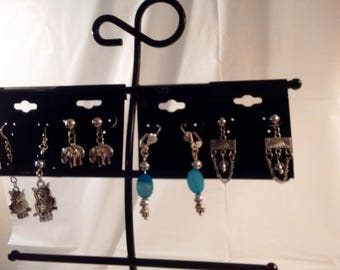 Earrings- 4 Pair Set