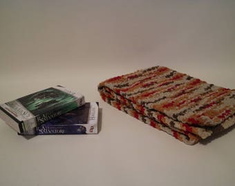 "Hand Knit Scarves: 10"" x 52"" Autumn"