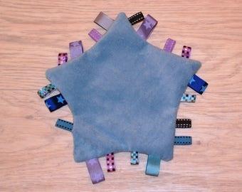 Blue Star shaped blanket