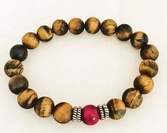 Bohemian Bracelet, Tigers Eye Braclet