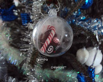 noel Christmas transparent candy ball