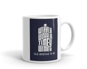 Talk Whovian To me Mug