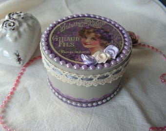 "Box of secrets ""Parma Violets"" makeover"