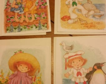 Vintage Greeting Card Collection ~ Current Country Capers Collection