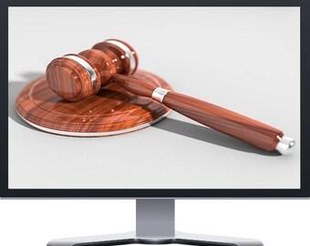 Attorney Lawyer Boutique Website Design WordPress