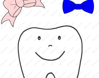 Tooth - Boy or Girl - .svg .png .eps .dfx