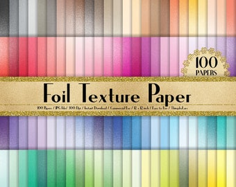"100 Sequin Papers in 12"" x 12"", 300 Dpi Planner Paper, Commercial Use, Scrapbook Paper, Rainbow Paper, 100 Sequin Papers"