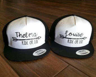 BFF Thelma and Louise Hat Set