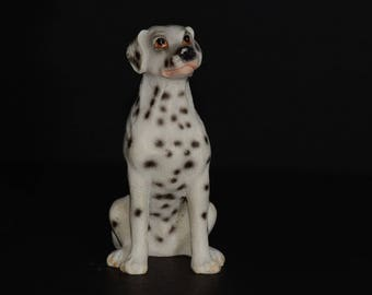 Sandicast, DALMATIEN, small size sculpture, DOG Figurine, Statue, Hand Painted, Resin, Replica Realistic, Gift Pet Lovers, Dog, Collectible