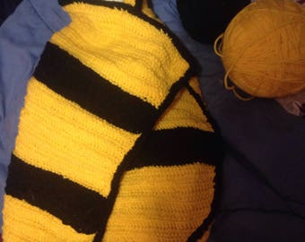 Busy Bee Baby Blanket