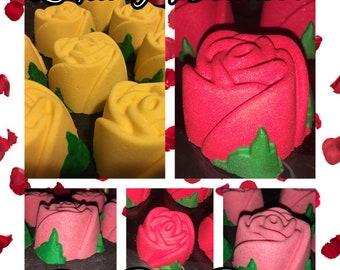 Rose Bath Bombs