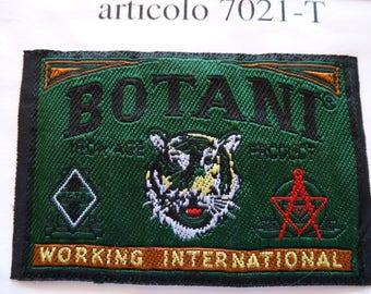 Applique badge patch 7056 Botant Working international
