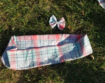 Children's Scarf and bow set
