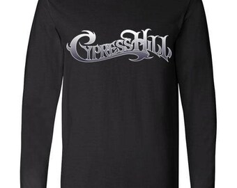 Old School Hip Hop Rap Shirt of Cypress Hill Long Sleeve Small to XXL
