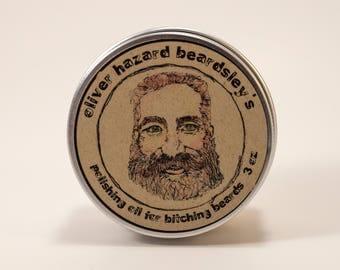 Beard Balm Oliver Hazard Beardsley's Polishing Oil for bitchin' Beards
