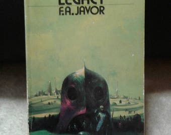 The Rim-World Legacy by F.A. Javor vintage science fiction paperback