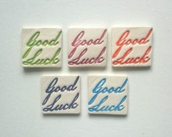 Good Luck Assortment Clay Pieces (5x Pack)