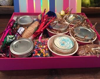 Birthday box for 4
