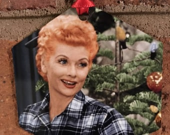 I Love Lucy Lucille Ball Christmas Ornament