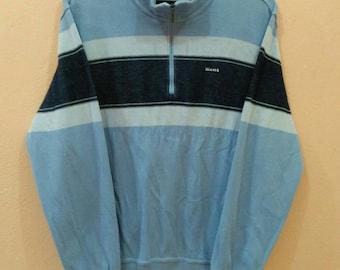 KENT SWEATSHIRT  jumper pullover half zipper large size