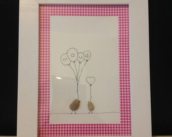 customizable frame for child