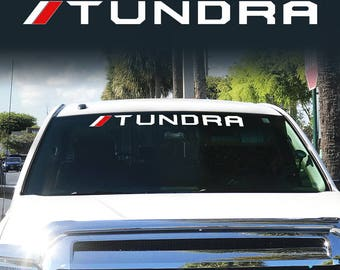 Toyota TRD Off Road Racing Tundra Windshield Vinyl Decal Sticker Truck Logo Stickers
