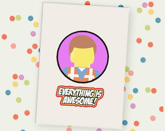 Everything is Awesome Unframed Print