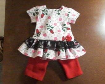 2 outfits for 18 inch doll DOLL NOT INCLUDED