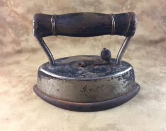 Antique Iron - Dover Sad Iron No 92 - Made circa 1900