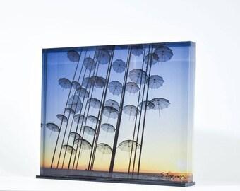 Umbrellas - Thessaloniki (print 25x20)