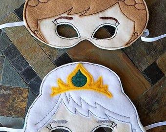 Frozen Inspired Masks