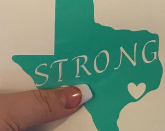 Texas Strong Decals
