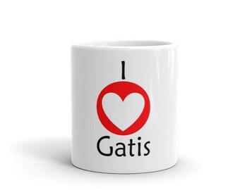 Gatis Kandis -  I <3 Gatis Mug