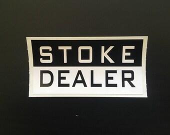 Stoke Dealer Vinyl Sticker