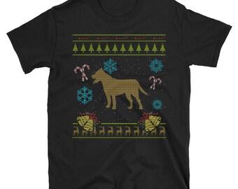 Pit Bull Pitbull Terrier Xmas Christmas Ugly Holiday Sweater Shirt Gift