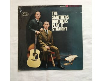The Smothers Brothers Play It Straight Vinyl, 1966