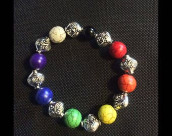 Reiki charged Chakra Bracelet