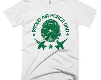 Proud Air Force Dad 01 Short-Sleeve T-Shirt