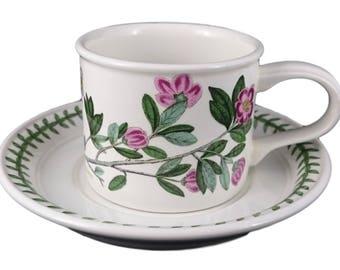Portmeirion Cup & Saucer - Botanic Garden Rhododendron